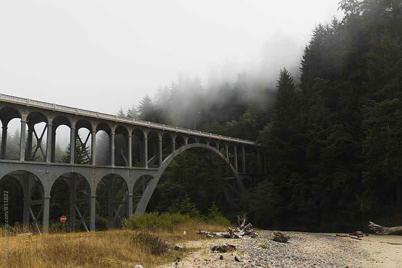 Trestle on Highway 101 by Kim Jay for Stocksy United