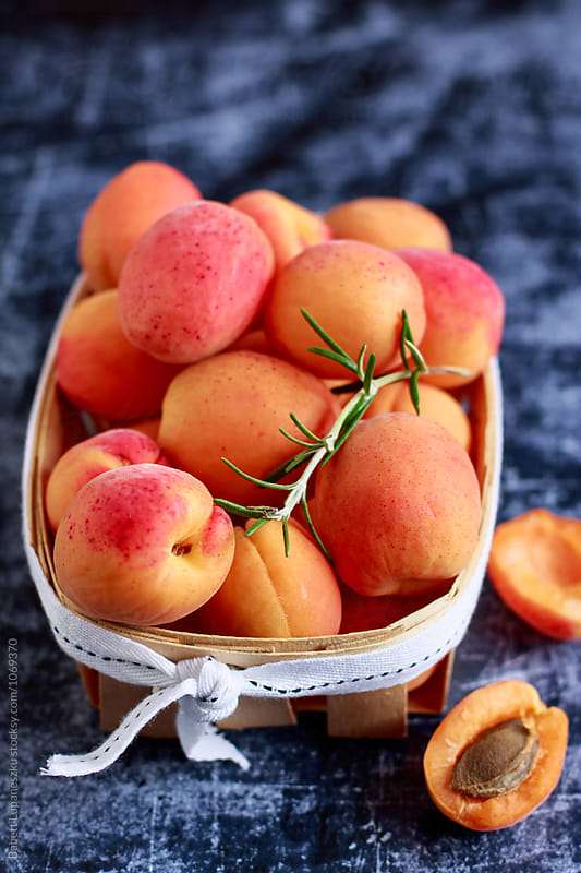 Fresh apricot by Viktorné Lupaneszku for Stocksy United