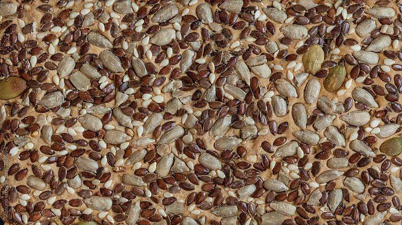 Sesame Cracker Background by Mosuno for Stocksy United
