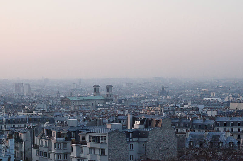 Paris As Seen From Montmartre by ALICIA BOCK for Stocksy United