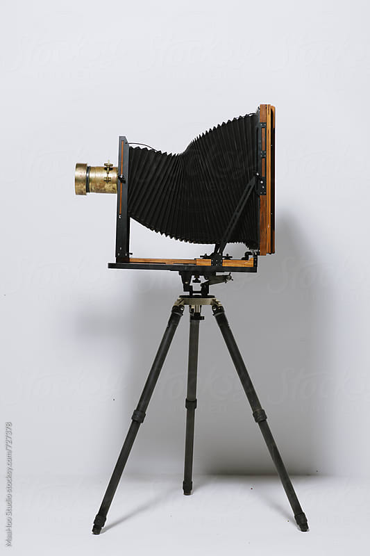 Large format camera by MaaHoo Studio for Stocksy United