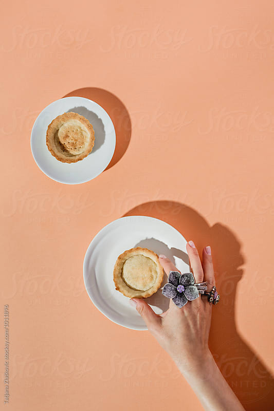 Making apricot tart by Tatjana Ristanic for Stocksy United