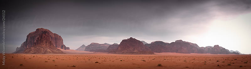 Wadi Rum Desert by Micky Wiswedel for Stocksy United