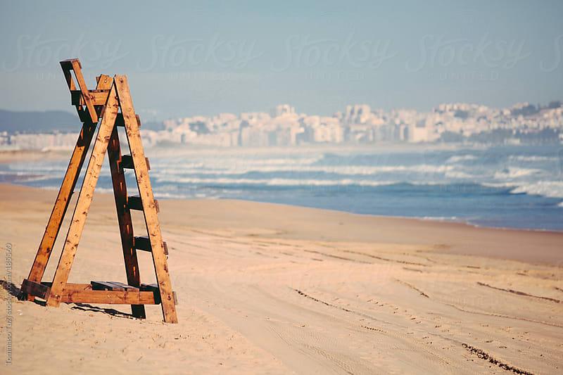 Beach rescue by Tommaso Tuzj for Stocksy United