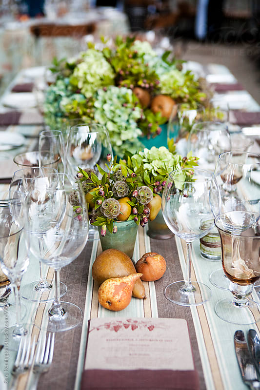 Wedding Table by Sara Remington for Stocksy United