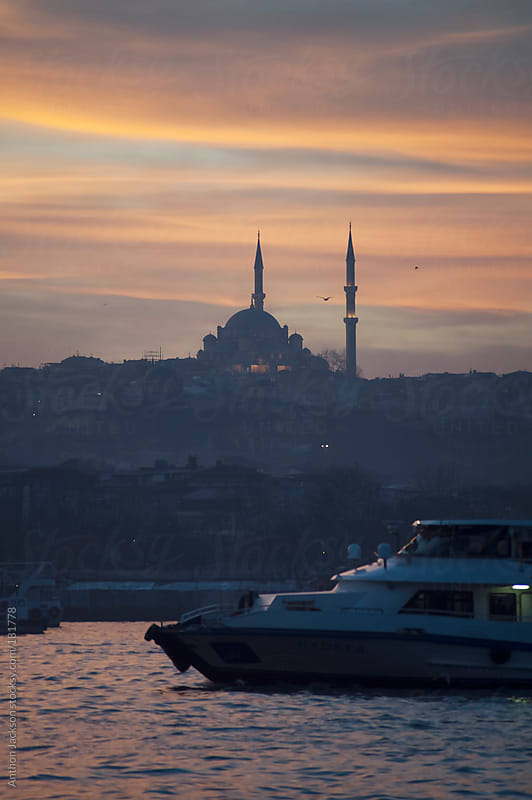 Istanbul Sunset by Anthon Jackson for Stocksy United
