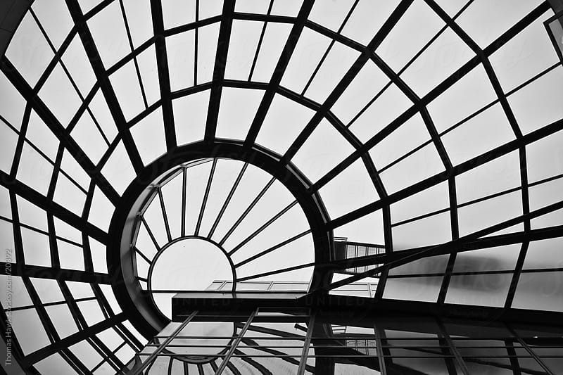 Sky light, San Francisco public library by Thomas Hawk for Stocksy United