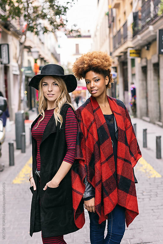 Stylish Women at the City by VICTOR TORRES for Stocksy United