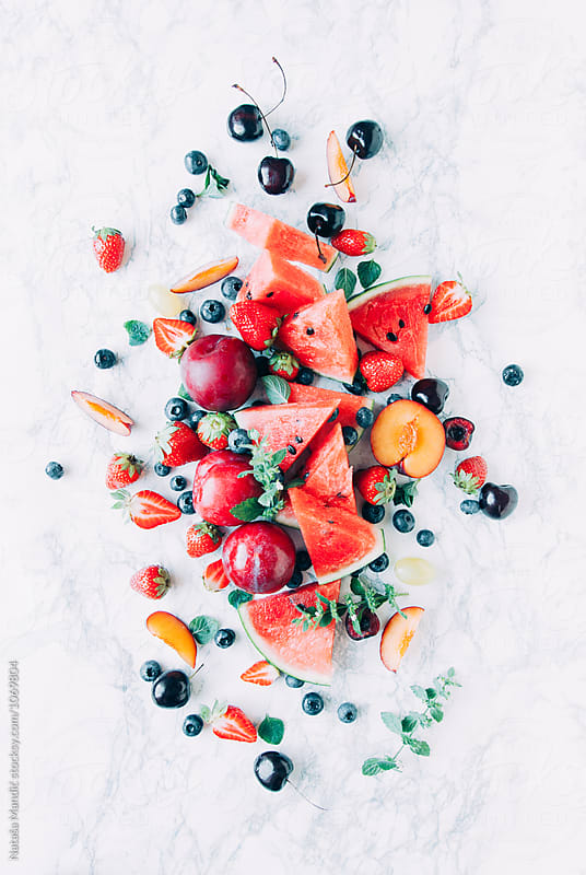 Fresh fruit  by Nataša Mandić for Stocksy United