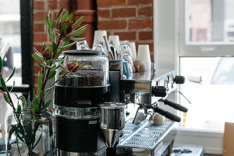 Barista coffee station by Melanie Riccardi for Stocksy United