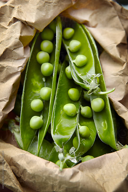 Fresh peas by James Ross for Stocksy United