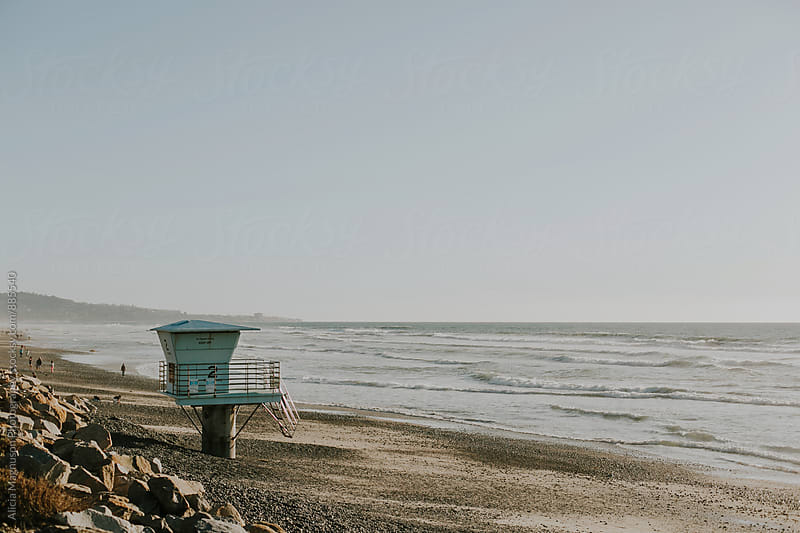 Pacific Ocean Beach by Alicia Magnuson Photography for Stocksy United