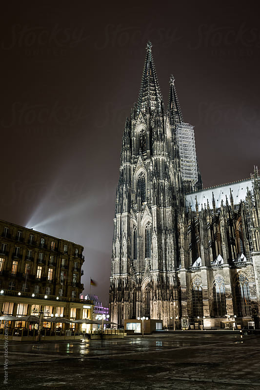 Cathedral in Cologne by Peter Wey for Stocksy United