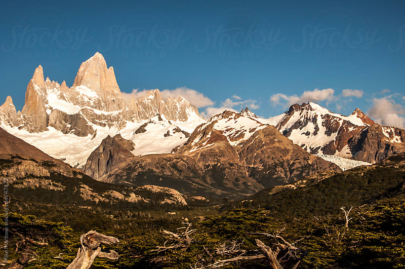 Mountains in Patagonia by Mike Marlowe for Stocksy United