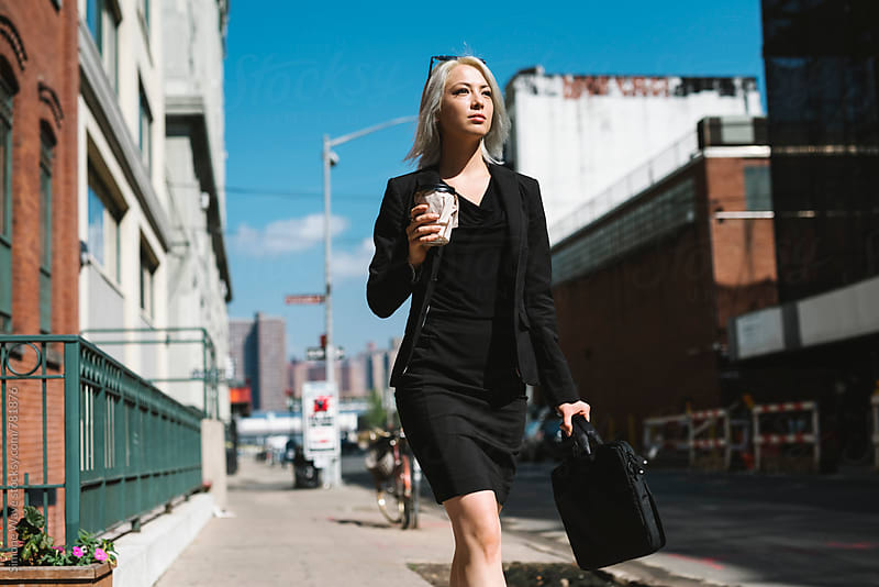 Stylish businesswoman in NY by WAVE for Stocksy United