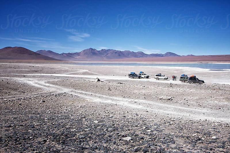 4x4 trucks in Bolivia by Jon Attaway for Stocksy United