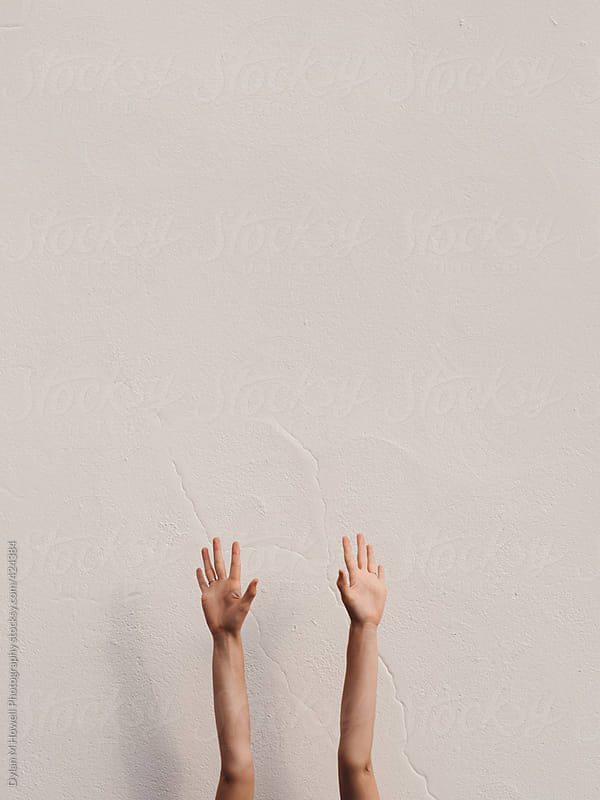 Hands up by Dylan M Howell Photography for Stocksy United