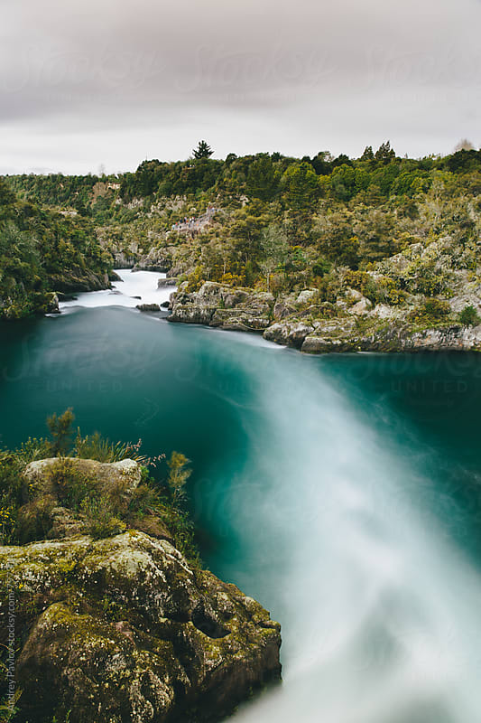 Rapid Waikato river by Andrey Pavlov for Stocksy United