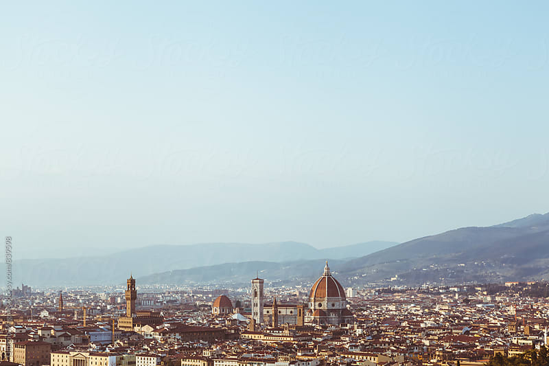 Florence Cityscape by Giorgio Magini for Stocksy United