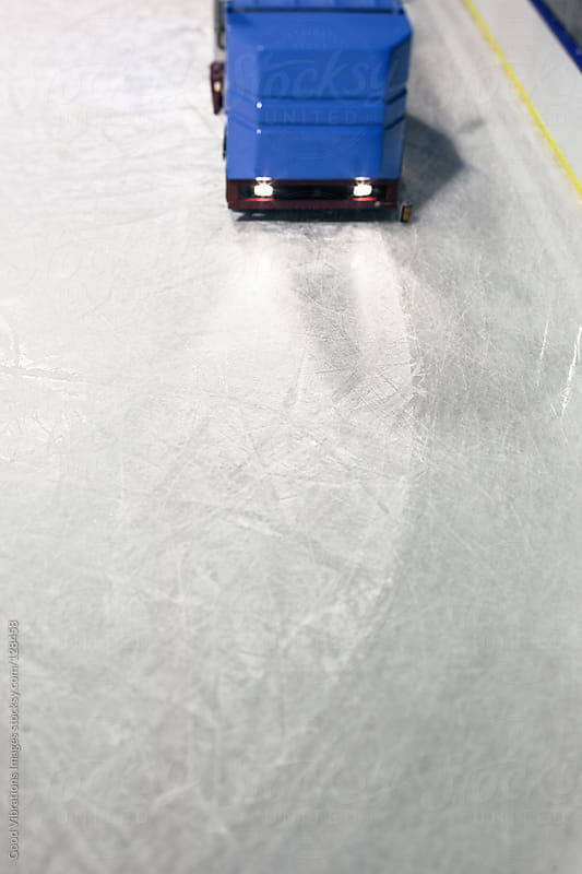 Ice Resurfacer by Good Vibrations Images for Stocksy United