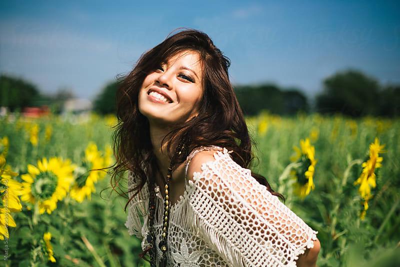 Sunflower beauty. by Marija Savic for Stocksy United