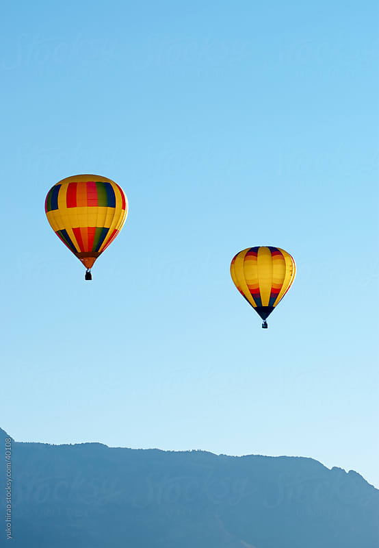 Morning balloon travel by yuko hirao for Stocksy United