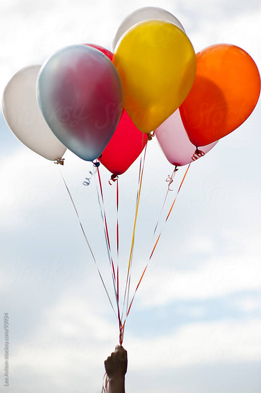 bunch of balloons by Lee Avison for Stocksy United