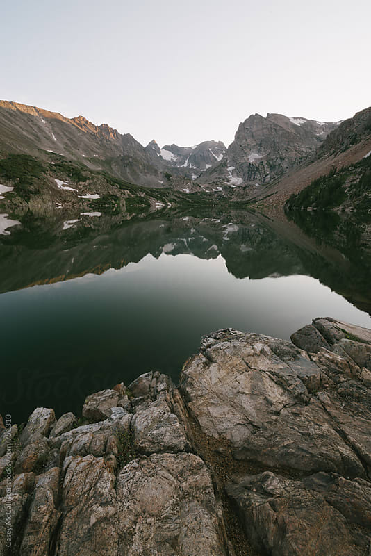 Colorado Mountains by Casey McCallister for Stocksy United