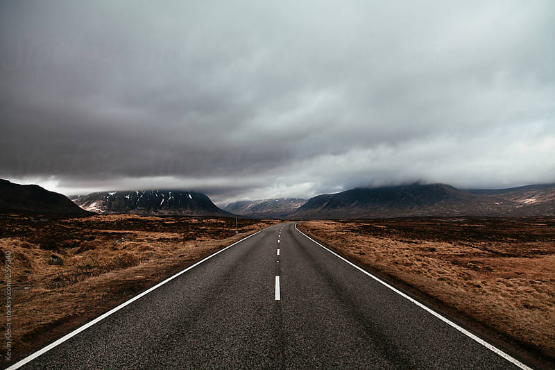 road by Kevin Klein for Stocksy United