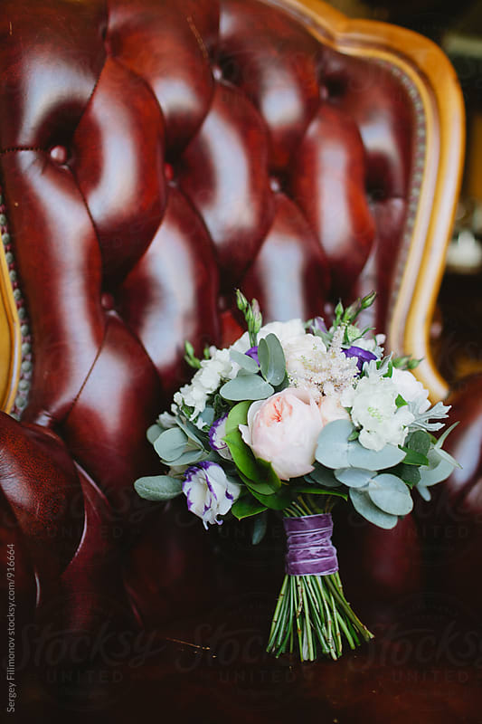 Beautiful wedding bouquet by Sergey Filimonov for Stocksy United