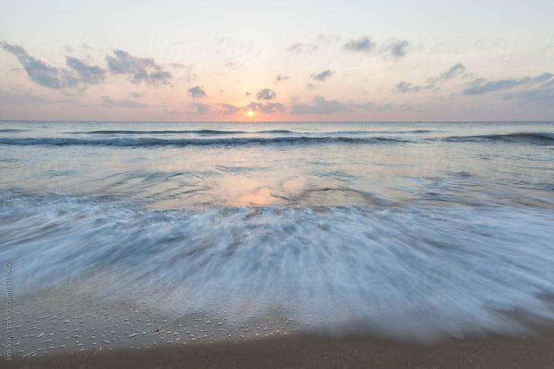 sunrise beach by jira Saki for Stocksy United
