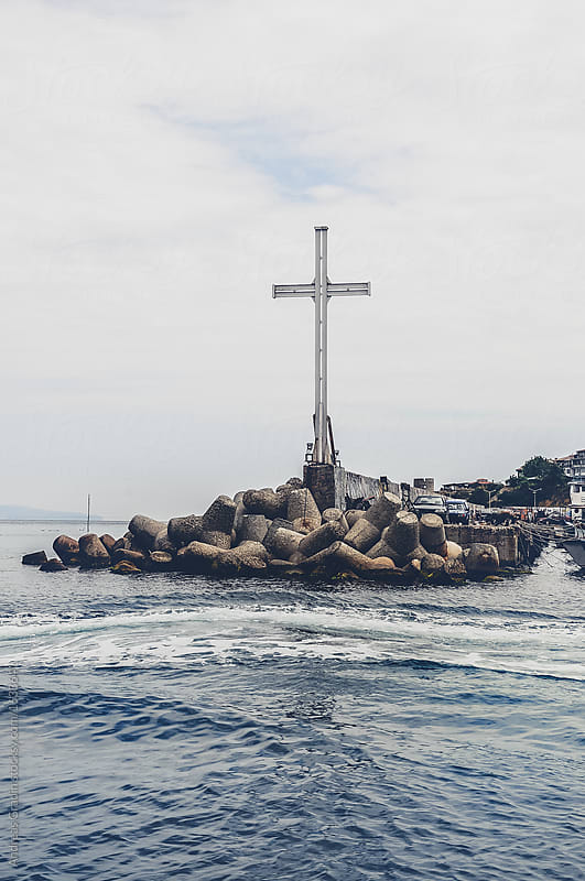 bulgarian cross at Nessebar by Andreas Gradin for Stocksy United