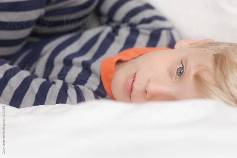 Sleepy Boy by Amy Drucker for Stocksy United