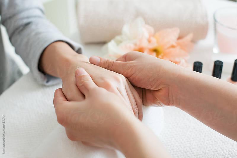 Hand Massage by Lumina for Stocksy United
