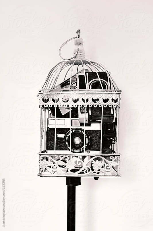 old cameras  by juan moyano for Stocksy United