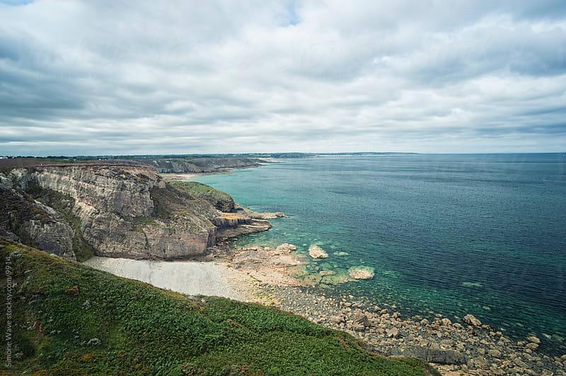 Coastline in Brittany by Simone Becchetti for Stocksy United