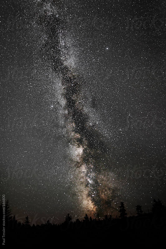 Milky Way by Paul Tessier for Stocksy United