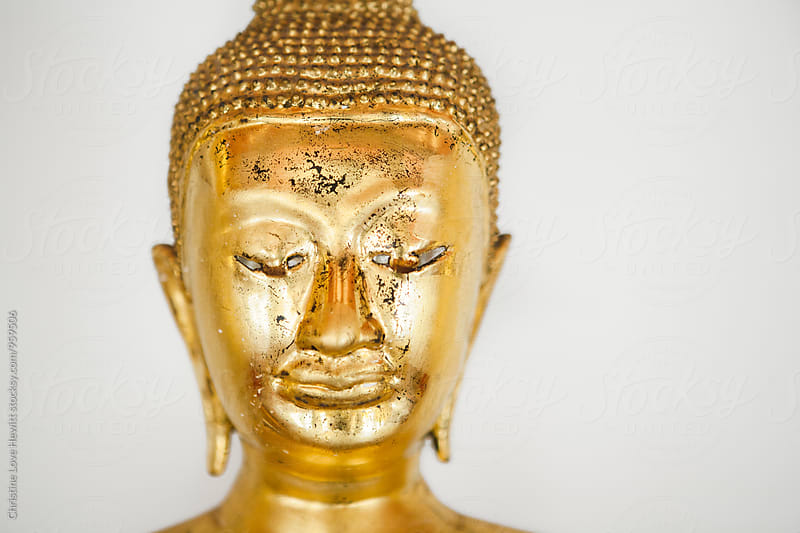 Buddha statue by Christine Love Hewitt for Stocksy United