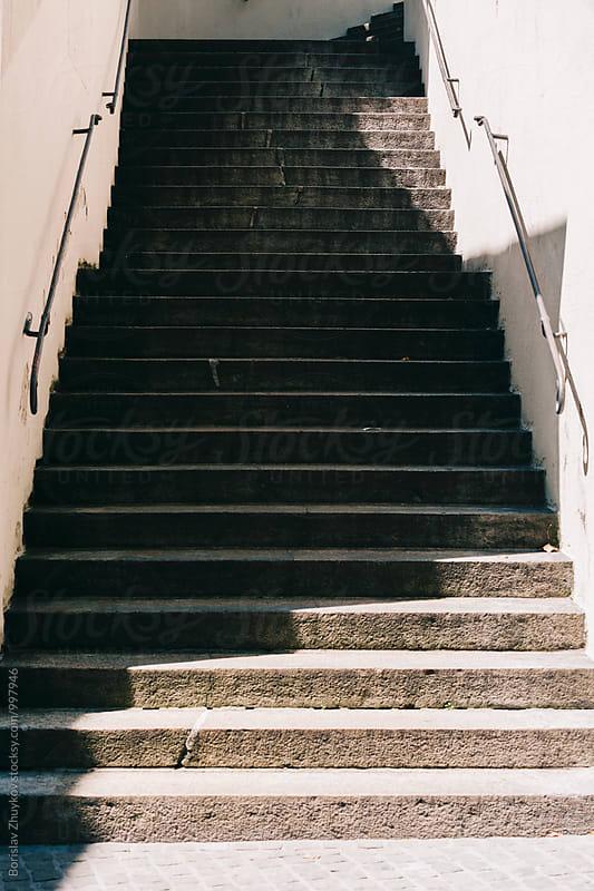 Stairs by Borislav Zhuykov for Stocksy United