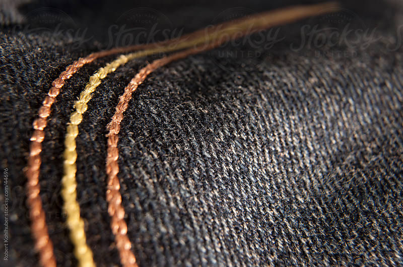 Jeans detail by Robert Kohlhuber for Stocksy United