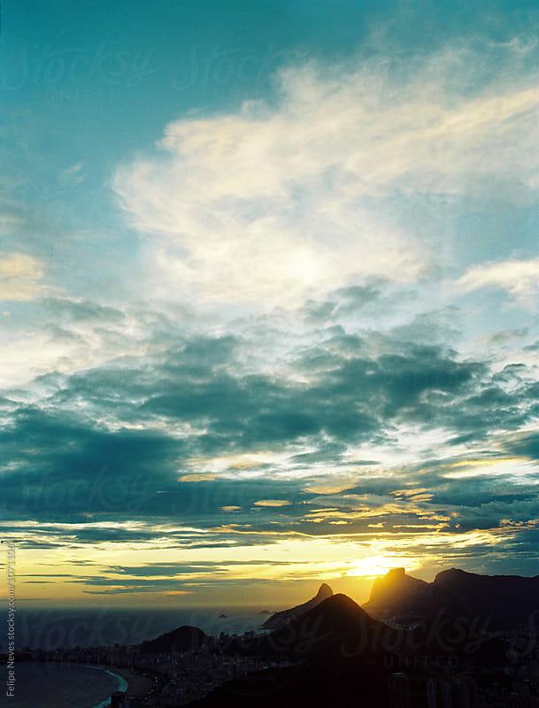 Sunset in Rio de Janeiro by Felipe Neves for Stocksy United