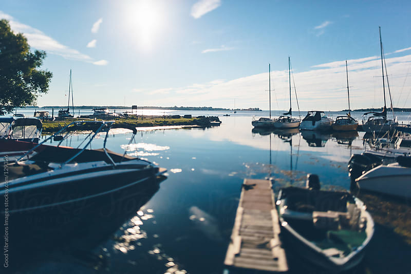 Small Marina by Good Vibrations Images for Stocksy United