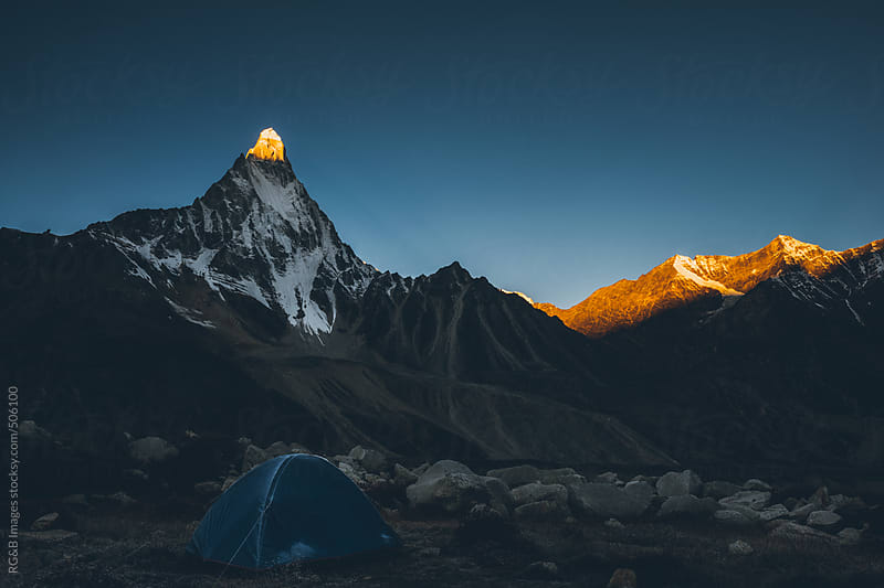 The golden peak  by RG&B Images for Stocksy United