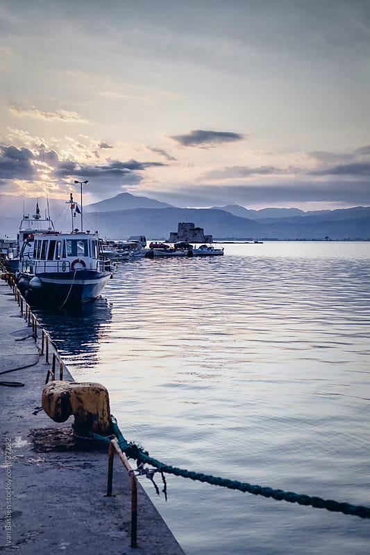 Nafplio harbour by Ivan Bastien for Stocksy United