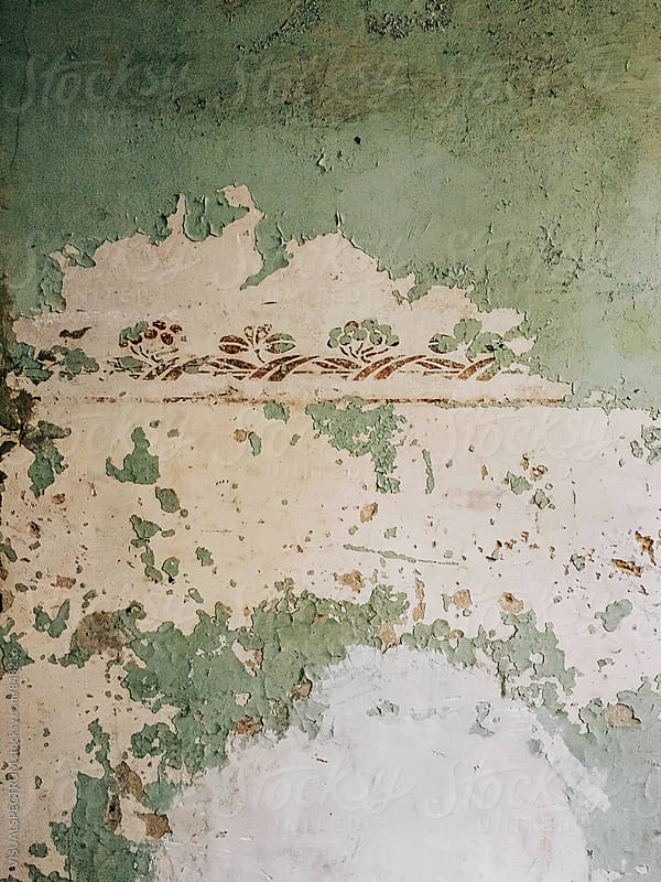 Vintage Wall Detail on Old Interior Wall by Julien L. Balmer for Stocksy United