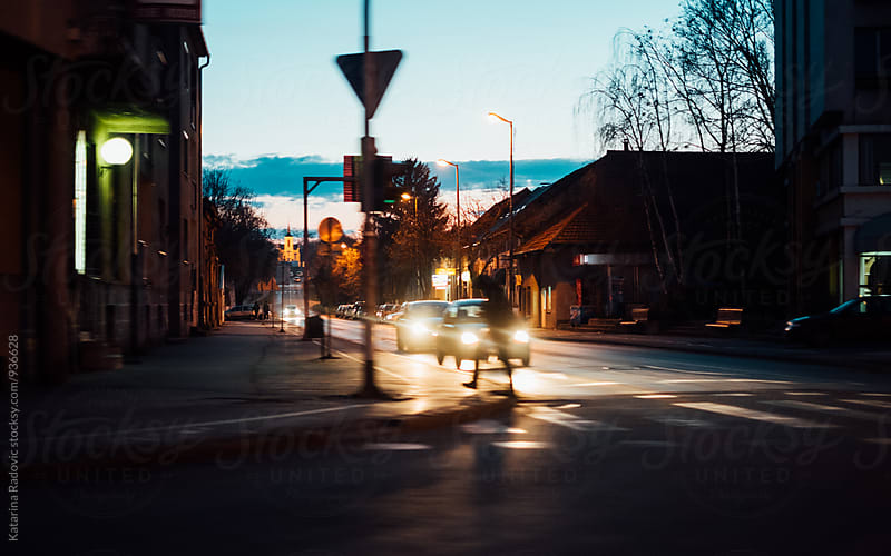 Street in Small Town In Serbia by Katarina Radovic for Stocksy United