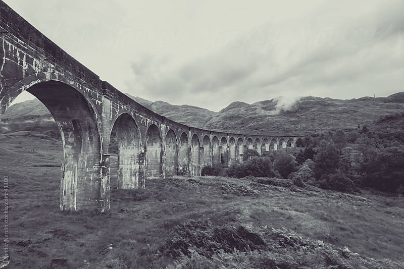 Glenfinnan Viaduct by Leander Nardin for Stocksy United