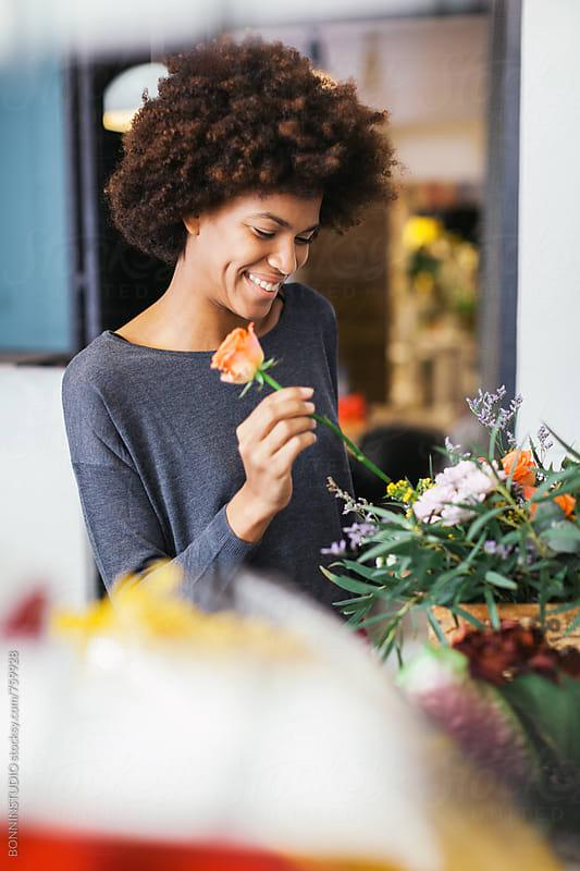 Floral workshop. by BONNINSTUDIO for Stocksy United