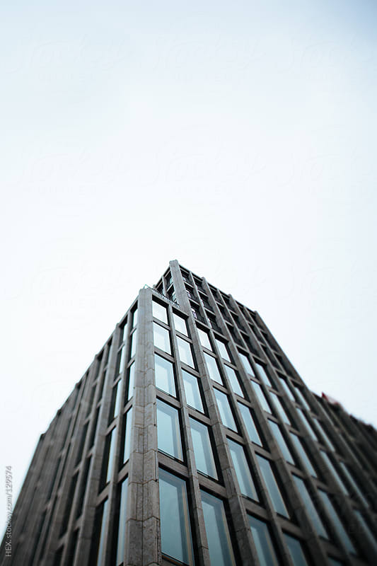 Skyscraper in Berlin. Germany by HEX. for Stocksy United