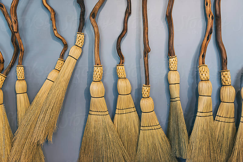 Handmade Brooms by Ronnie Comeau for Stocksy United